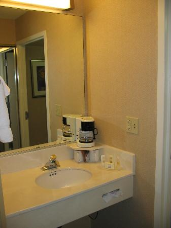 Courtyard by Marriott Wilmington Brandywine: bathroom vanity area