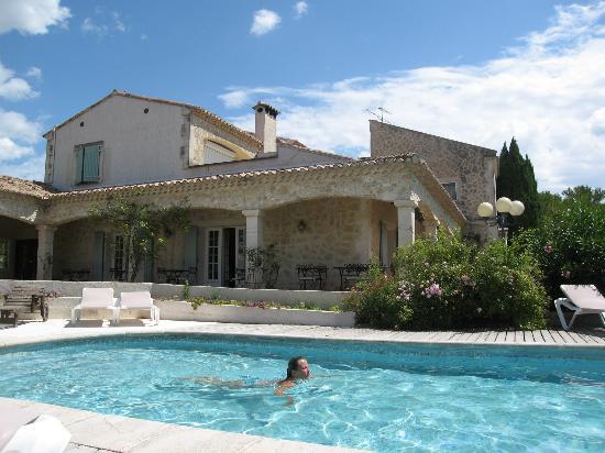 Mas Saint Victor : et belle piscine