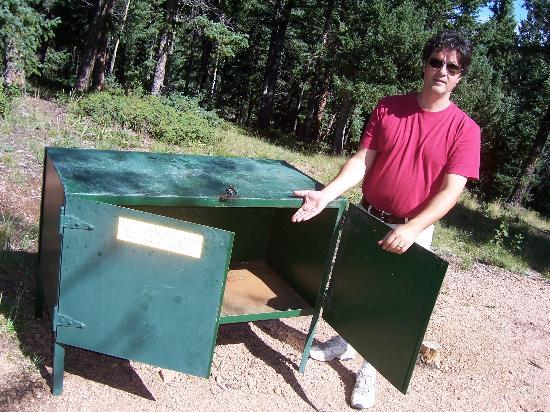 Mueller State Park: Bear Box