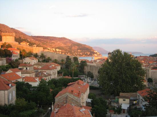 Hilton Imperial Dubrovnik : the view from th hilton