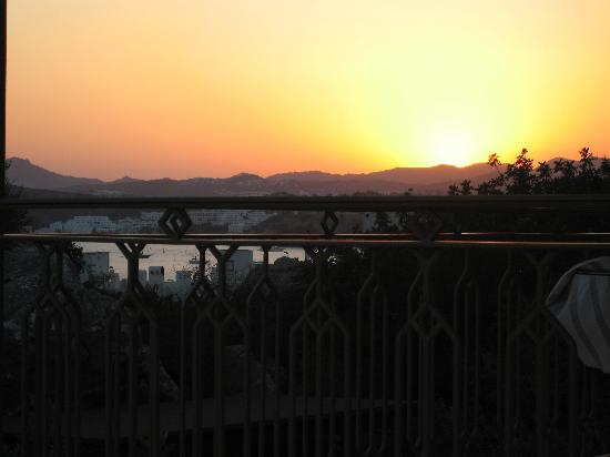 Aegean Gate Hotel: Sunset view from room