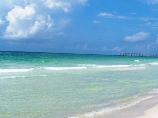 Pensacola Beach: View of the beach