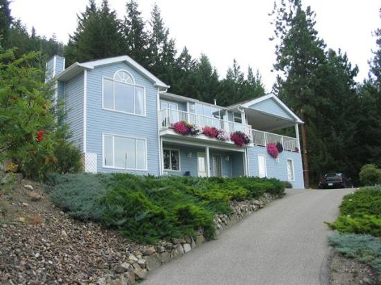 Okanagan Lakeview B&B : a good hint of what's inside