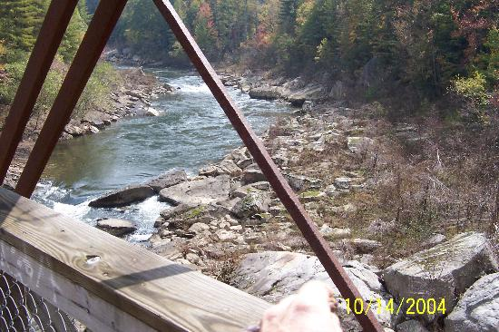 Bandy Creek Campgrounds: Crossing the O & W Bridge