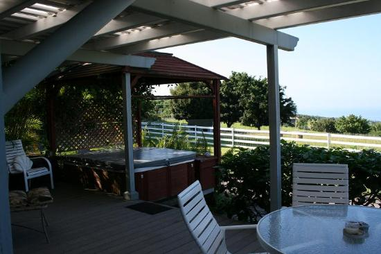 Silver Oaks Ranch: Deck view