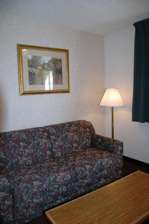 Comfort Inn: Sofa in the suite