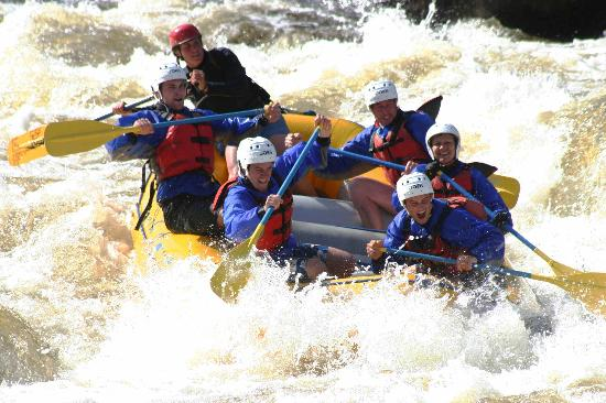 Bingham, ME: Whitewater Rafting, Penobscot River, with North Country