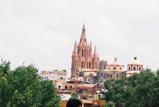 San Miguel de Allende, México: Iglesia de San Miguel