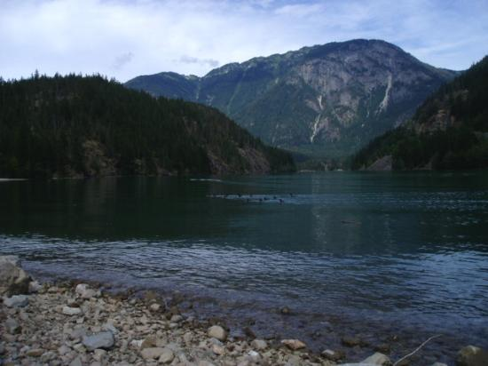 ‪‪North Cascades National Park‬, واشنطن: Diablo Lake‬