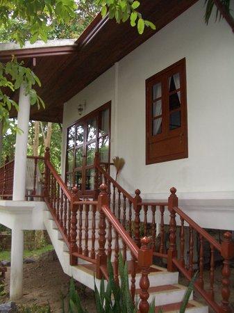 Khanom Hill Resort: Unser Bungalow von außen