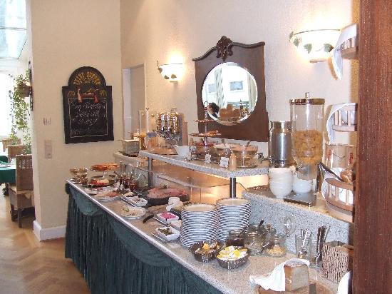 Hotel Residence Bremen: breakfast