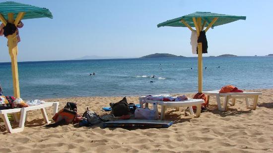 Hotel Perrakis: in spiaggia