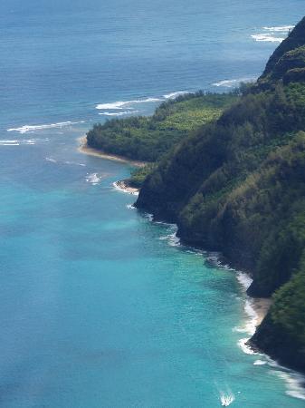 Marriott's Waiohai Beach Club: Tip of Napali