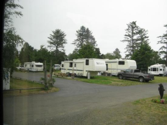 Westport, Вашингтон: Pacific Motel and RV Park
