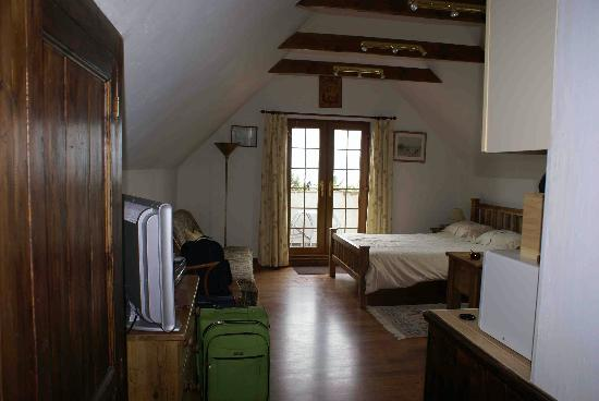 The Old Count House: View of the Studio Apartment