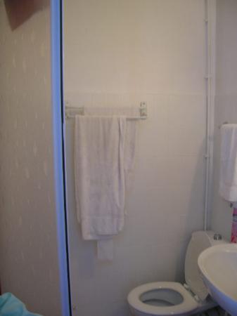 Hotel de France : notre salle de bain