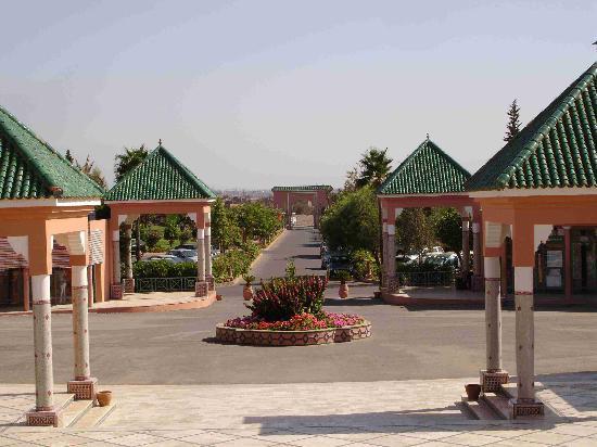 Sangho Club Privilege Marrakech: Entrée