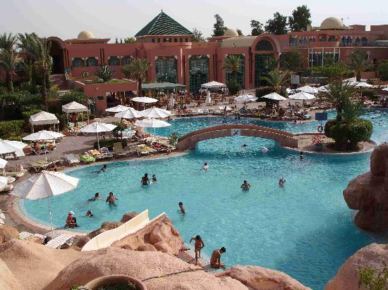 Sangho Club Privilege Marrakech : Batiment principal