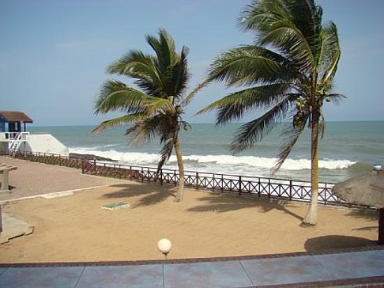Elmina Beach Resort Atlantic Ocean From The Outdoor Resturant