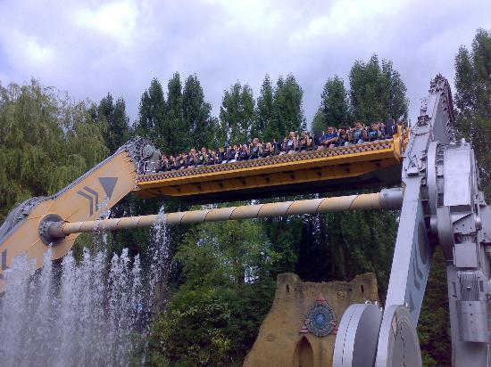 Chessington, UK: Rameses Revenge