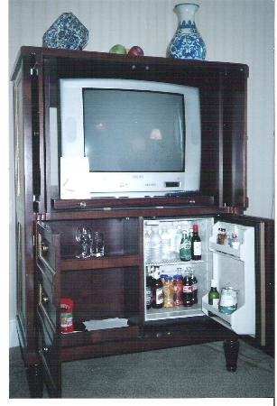 The Westin Palace Madrid: Tv Cabinet With Mini Bar Well Stocked  Extremely  Expensive
