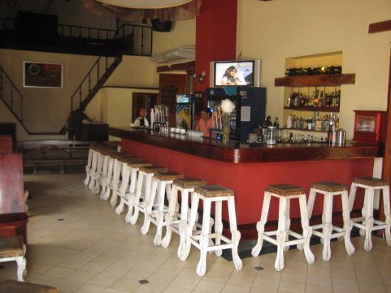 Hotel El Club: The Bar and Dancing Area