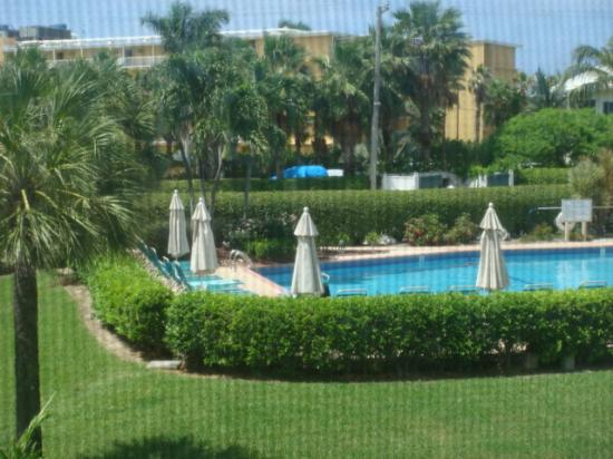 Plantation Village Beach Resort: view from balcony and my bedroom