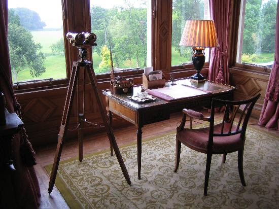 The Carnegie Club at Skibo Castle: Writing Desk in the Drawing Room