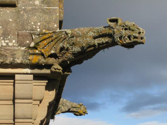 The Carnegie Club at Skibo Castle: Gargoyle detail on the Castle