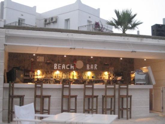 Gumbet Cove Hotel : Private bar area!