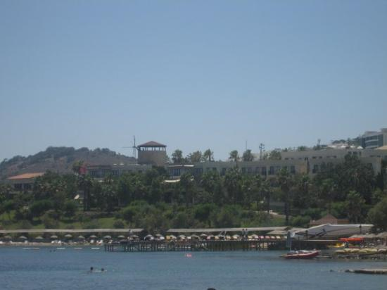 Gumbet Cove Hotel : View from private beach area!