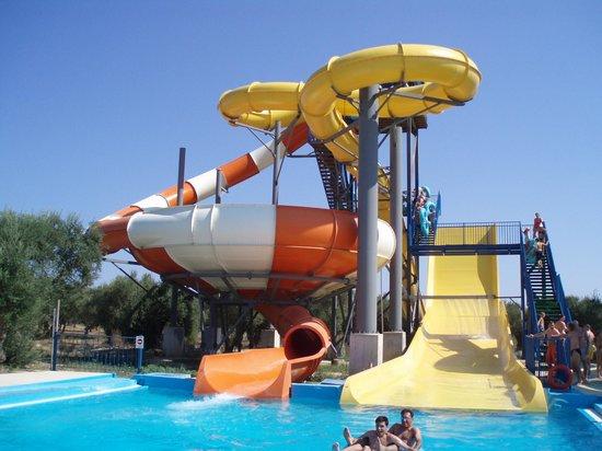 Water Village: slides