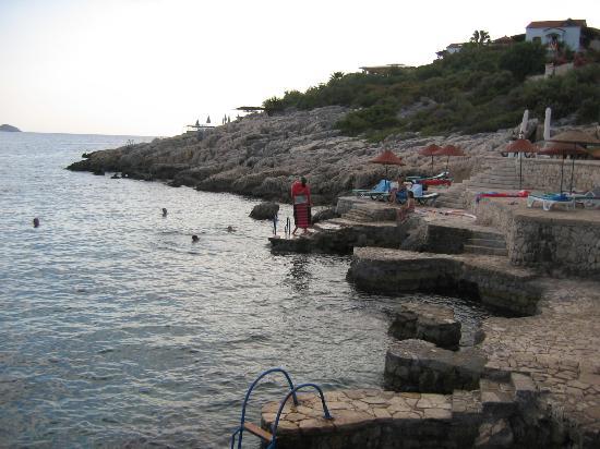 Aquarius Hotel: Seaside in Kas