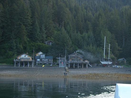Alaska's Sadie Cove Wilderness Lodge: Lodge from the Water