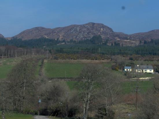 Castle Dargan: View from room window