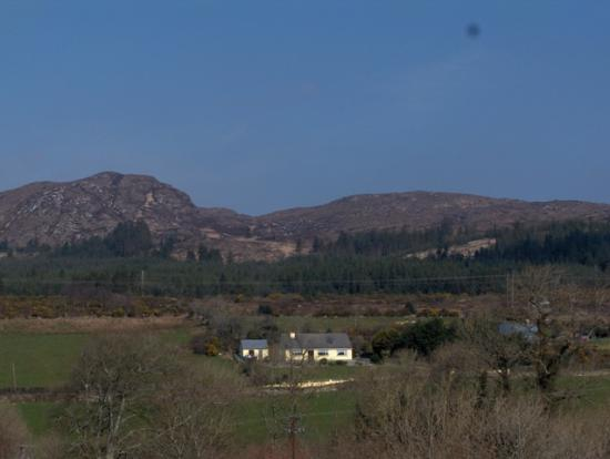 Castle Dargan: View from room window 2