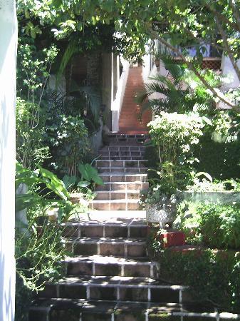 Hospedaje Mary : La escalerita que lleva a los cuartos