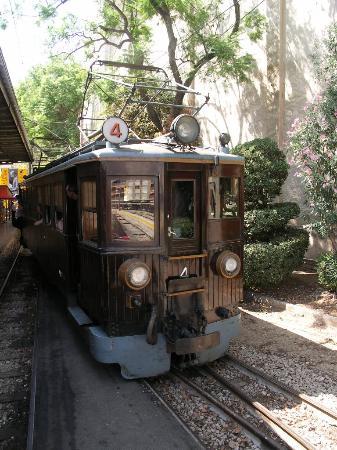 Sóller train at Palma, 2005