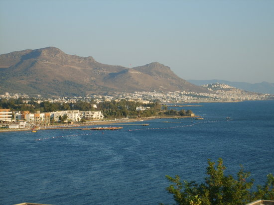 Turgutreis, Tyrkiet: View from hotel