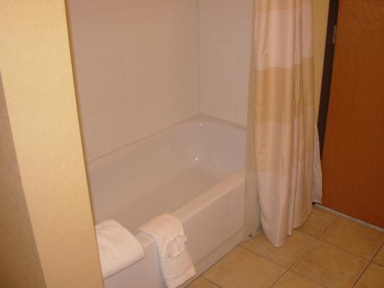 Fairfield Inn & Suites Anchorage Midtown: Bathtub