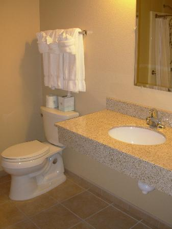 La Quinta Inn & Suites Fairbanks: Suite - Bathroom