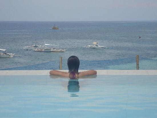 Amorita Resort: View from the infinity pool