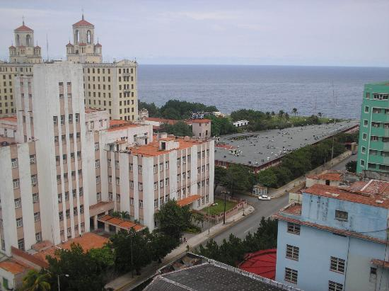 Hotel Saint John's: view from Pico Blanco/ pool