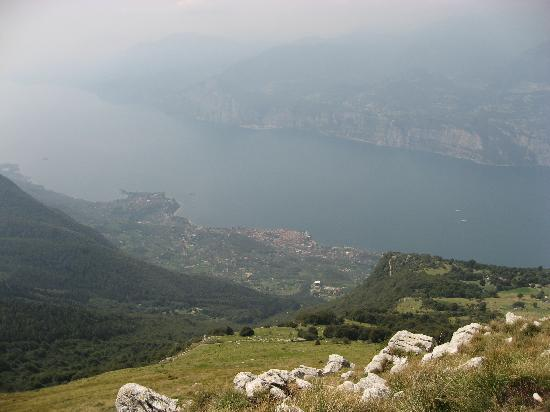 Hotel Angelini: View from Monte Baldo