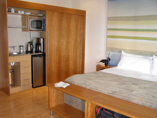 Hippo Boutique Hotel: The room showing the kitchenette