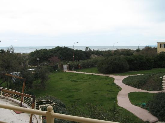 Tombolo Talasso Resort: view from balcony