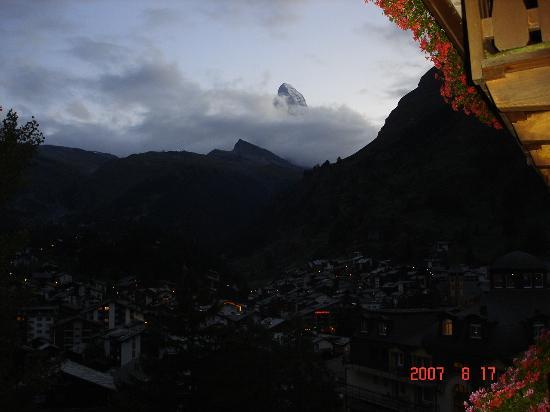 Hotel Bella Vista: view from balcony