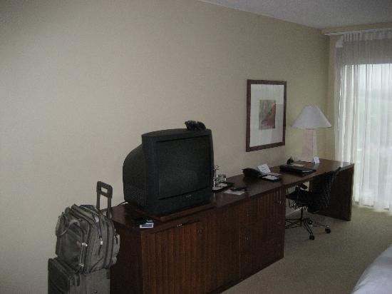 Dallas/Fort Worth Marriott Hotel & Golf Club at Champions Circle: TV/Desk