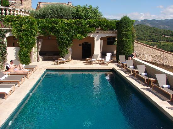 Hotel Crillon le Brave: The pool