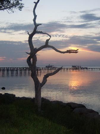 St. George Island, FL: Sunset on the Bay